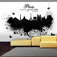 Papier peint  Paris is always a good idea