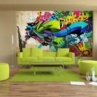 Papier peint  Funky  graffiti