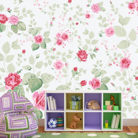 Papier peint  Rosy pleasures