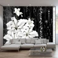 Papier peint  Crying lilies