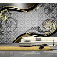 Papier peint  Golden snail