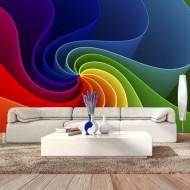 Papier peint  Colorful Pinwheel