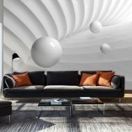 Papier peint  White Symmetry