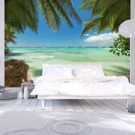 Papier peint  Détente sur la plage