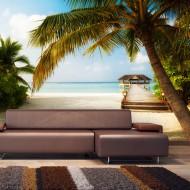 Papier peint  Paradise beach