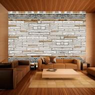 Papier peint  Mosaique en pierre