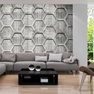 Papier peint  Platinum cubes