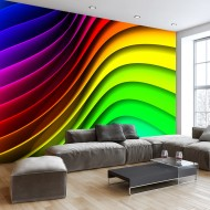 Papier peint  Rainbow Waves
