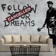 Papier peint  Dreams Cancelled (Banksy)