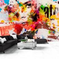 Papier peint  City Collage