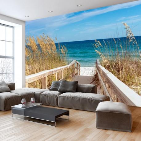 Papier peint  Summer at the Seaside