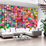 Papier peint  Colourful Boxes