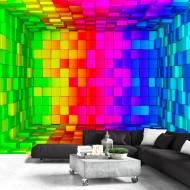 Papier peint  Rainbow Cube
