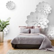 Papier peint  White Garden