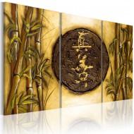 Tableau  Symbole oriental