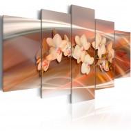 Tableau  Orchidée avec des nuances gris