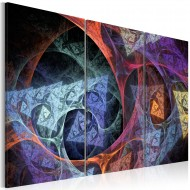 Tableau  Abstraction de différentes couleurs