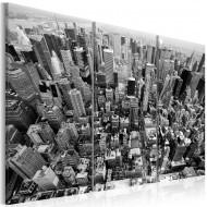 Tableau  Vue magnifique sur New York
