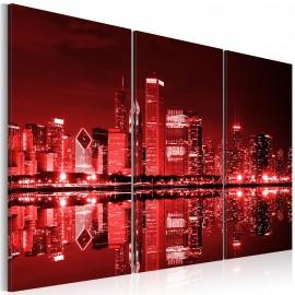 Tableau - Chicago aux couleurs intrigantes