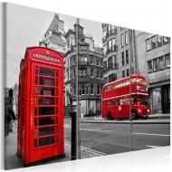Tableau  Vie à Londres