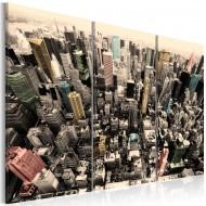 Tableau  les plus hauts immeubles de New York