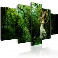 Tableau  Perdue dans les arbres