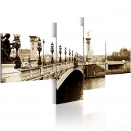 Tableau  Pont AlexandreIII à Paris