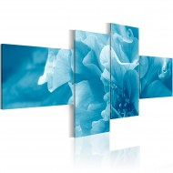 Tableau  Azalée bleue