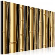 Tableau  Tiges marron de bambou