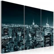 Tableau  NYC dans la nuit