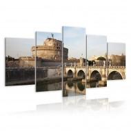 Tableau  Pont SaintAnge à laube
