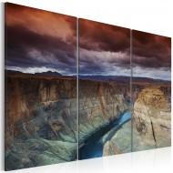 Tableau  Nuages audessus du Grand Canyon