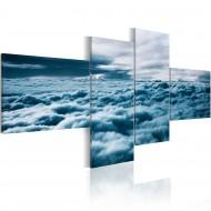 Tableau  Tête dans les nuages