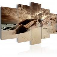 Tableau  Nuages de sable