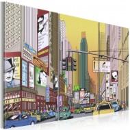 Tableau  Cartoon city