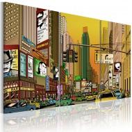 Tableau  Cartoon NYC