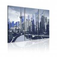 Tableau  Shanghai  paysage urbain