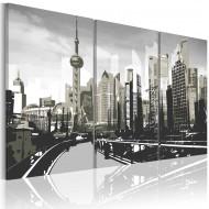 Tableau  Shanghai gris