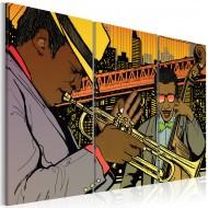 Tableau  Musicien de jazz