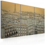 Tableau  Derniers moments de la journée  Paris