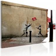Tableau  Jeux de ballon interdits (Banksy)
