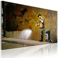 Tableau  Blanchiment des Caves Lascaux (Banksy)