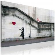 Tableau  Il ya toujours de lespoir (Banksy)