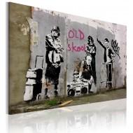 Tableau  Old school (Banksy)