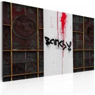 Tableau  Sang (Banksy)