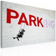 Tableau  Parking (Banksy)