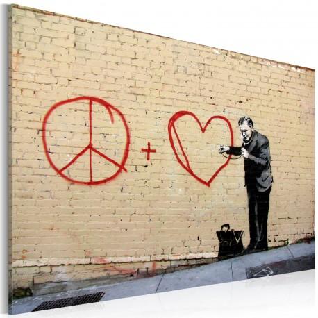 Tableau  Médecin pacifiste (Banksy)
