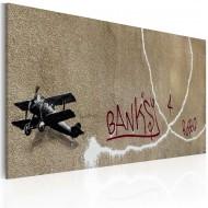 Tableau  Avion de lamour (Banksy)