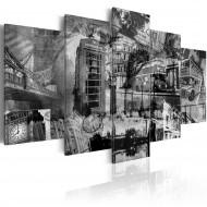 Tableau  Lessence de Londres  5 pièces