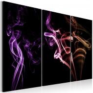 Tableau  Fumée colorée